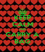 KEEP CALM AND CARRY A BAG - Personalised Poster A4 size