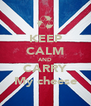 KEEP CALM AND CARRY My cheese - Personalised Poster A4 size