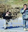 KEEP CALM AND CARRY ON  BITCH - Personalised Poster A4 size