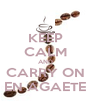 KEEP CALM AND CARRY ON EN AGAETE - Personalised Poster A4 size