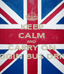 KEEP CALM AND CARRY ON SHAGGIN BUS DRIVERS - Personalised Poster A4 size