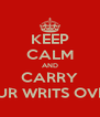 KEEP CALM AND CARRY ON SLITTING YOUR WRITS OVER JUSTIN BIEBER - Personalised Poster A4 size
