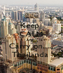 Keep  CALM And   Carry on..... Thailanda  - Personalised Poster A4 size