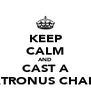 KEEP CALM AND CAST A PATRONUS CHARM - Personalised Poster A4 size