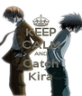 KEEP CALM AND Catch Kira - Personalised Poster A4 size