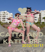 KEEP CALM AND CATTA AND  KATTY BFF - Personalised Poster A4 size