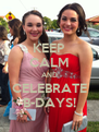 KEEP CALM AND CELEBRATE B-DAYS! - Personalised Poster A4 size