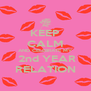 KEEP CALM AND CELEBRATE MY  2nd YEAR RELATION - Personalised Poster A4 size