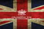 KEEP CALM AND CELEBRATE THE  QUEENS DIAMOND JUBILEE - Personalised Poster A4 size