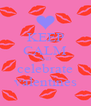 KEEP CALM AND celebrate valentines - Personalised Poster A4 size