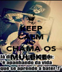 KEEP CALM AND CHAMA OS MULEKE! - Personalised Poster A4 size