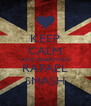 KEEP CALM AND CHARMING RAFAEL SMASH - Personalised Poster A4 size