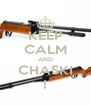 KEEP CALM AND CHASKI ! - Personalised Poster A4 size