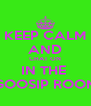 KEEP CALM AND CHAT ON IN THE  GOOSIP ROOM - Personalised Poster A4 size