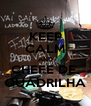 KEEP CALM AND CHEFE DE  QUADRILHA - Personalised Poster A4 size