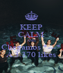 KEEP CALM AND Chegamos *---* Á 3.370 likes - Personalised Poster A4 size