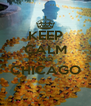 KEEP CALM AND CHICAGO  - Personalised Poster A4 size