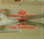 KEEP CALM AND CHILL WITH THE RIMMER - Personalised Poster A4 size