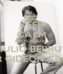 KEEP CALM AND CHOOSE  GIULIO BERRUTI FOR GIDEON CROSS - Personalised Poster A4 size