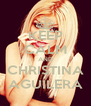 KEEP CALM AND CHRISTINA AGUILERA - Personalised Poster A4 size
