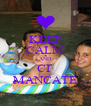 KEEP CALM AND CI  MANCATE - Personalised Poster A4 size