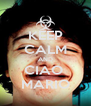 KEEP CALM AND CIAO  MARIO - Personalised Poster A4 size
