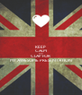 KEEP CALM AND CLAP FOR  MY AWESOME PRESENTATION - Personalised Poster A4 size