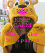 "KEEP CALM AND Clicca ""like"" Sulla pagina - Personalised Poster A4 size"