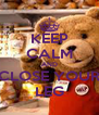 KEEP CALM AND CLOSE YOUR LEG - Personalised Poster A4 size