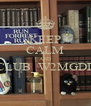 KEEP CALM AND CLUB_W2MGDL  - Personalised Poster A4 size