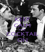 KEEP CALM AND COCKTAIL ON - Personalised Poster A4 size