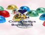 KEEP CALM AND Coma meus Bombons - Personalised Poster A4 size