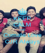 KEEP CALM AND Comate Love CJR Always - Personalised Poster A4 size