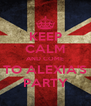 KEEP CALM AND COME TO ALEXIA'S PARTY - Personalised Poster A4 size