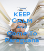 KEEP CALM AND Come To Paraguana - Personalised Poster A4 size