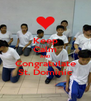 Keep Calm AND Congratulate St. Dominic - Personalised Poster A4 size