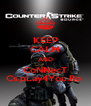 KEEP CALM AND CoNNecT Cs.pLay4You.Ro  - Personalised Poster A4 size
