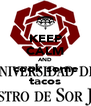 KEEP CALM AND cook some tacos - Personalised Poster A4 size