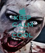 KEEP CALM AND COOL  - Personalised Poster A4 size