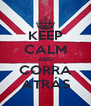 KEEP CALM AND CORRA ATRÁS - Personalised Poster A4 size