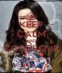 KEEP CALM AND COSGROVE  - Personalised Poster A4 size