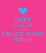 KEEP CALM AND CRACK SOME JOKES - Personalised Poster A4 size