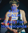 KEEP CALM AND Crazy For Horanconda - Personalised Poster A4 size