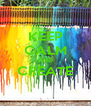 KEEP CALM AND CREATE  - Personalised Poster A4 size