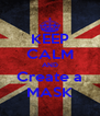 KEEP CALM AND Create a MASK - Personalised Poster A4 size