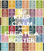 KEEP CALM AND CREATE A POSTER - Personalised Poster A4 size