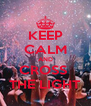 KEEP CALM AND CROSS  THE LIGHT - Personalised Poster A4 size