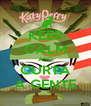 KEEP CALM AND CURTA A GENTE - Personalised Poster A4 size