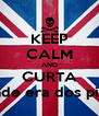 KEEP CALM AND CURTA A grande era dos piratas '' - Personalised Poster A4 size