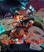 KEEP CALM AND CURTA ANIME PLUS - Personalised Poster A4 size
